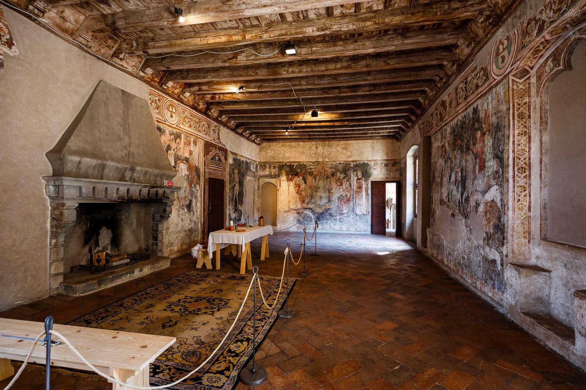 Castello Malpaga - interni