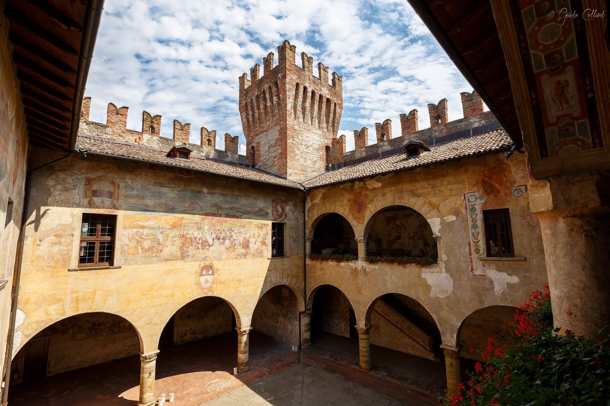 Castello Malpaga - interno