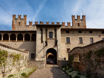 Castello Malpaga - ingresso
